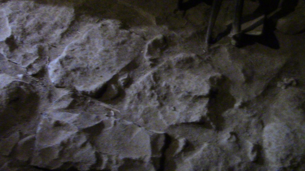 12.03.05.B ROUGH STONE FLOOR IN A 4TH CENTURY (A.D.) RABBI'S HOUSE IN KATZRIM