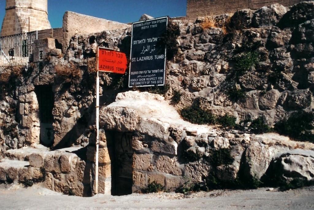 12.03.11.B. THE TOMB OF LAZARUS