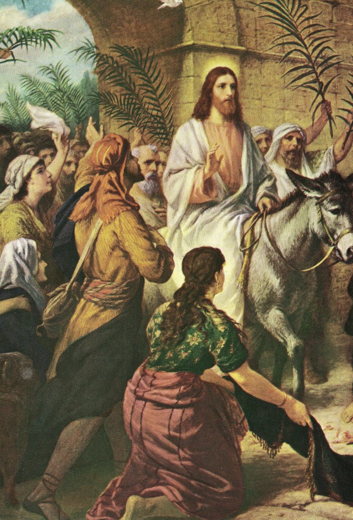 13.01.00.A. THE TRIUMPHAL ENTRY. Artwork by Heinrich Hoffmann. (2)