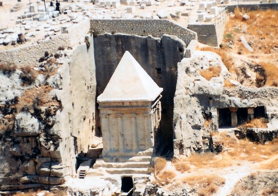 13.05.05.A. THE SO-CALLED TOMB OF ZECHARIAH