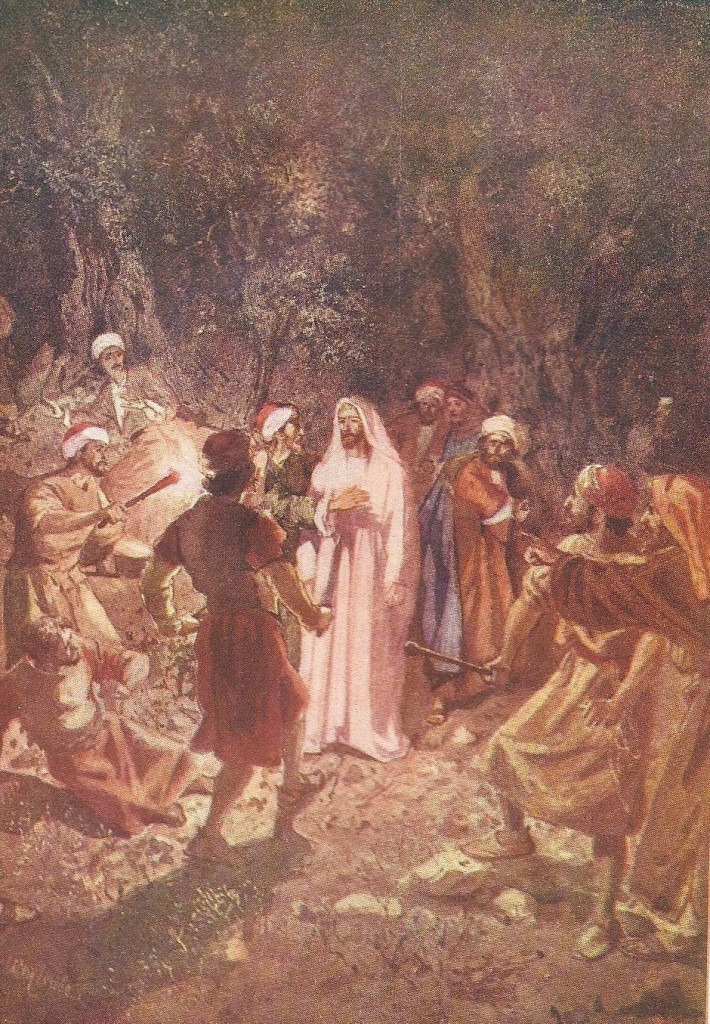 15.02.00.A. THE BETRAYAL OF JESUS. Artwork by William Hole of the Royal Scottish Academy of Art, 1876. (6)