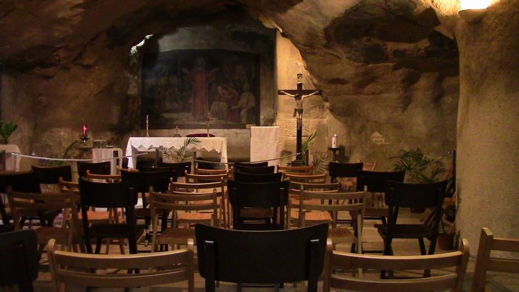 15.02.01.A. THE CAVE OF GETHSEMANE