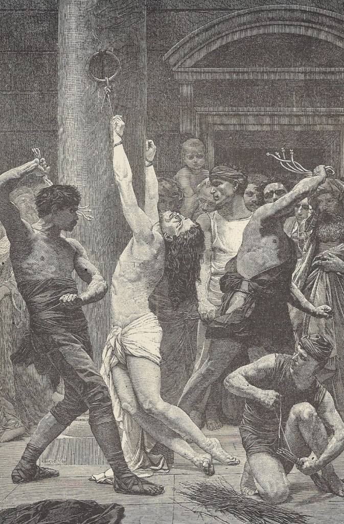 16.01.02.B. AN ILLUSTRATION OF A CRIMINAL BEING FLOGGED by T. DeWitt Talmage, 1881 (3)