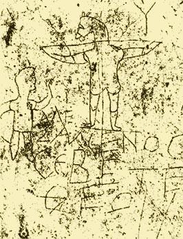16.01.10.C. ANTI-CHRISTIAN GRAFFITI