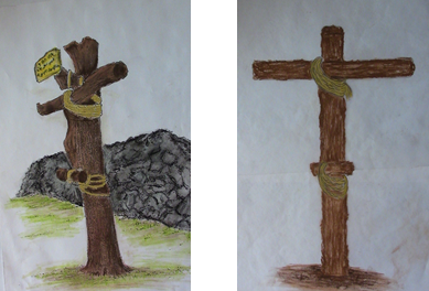 16.01.11.D. ILLUSTRATIONS 5 & 6 OF CRUCIFIXIONS (2)