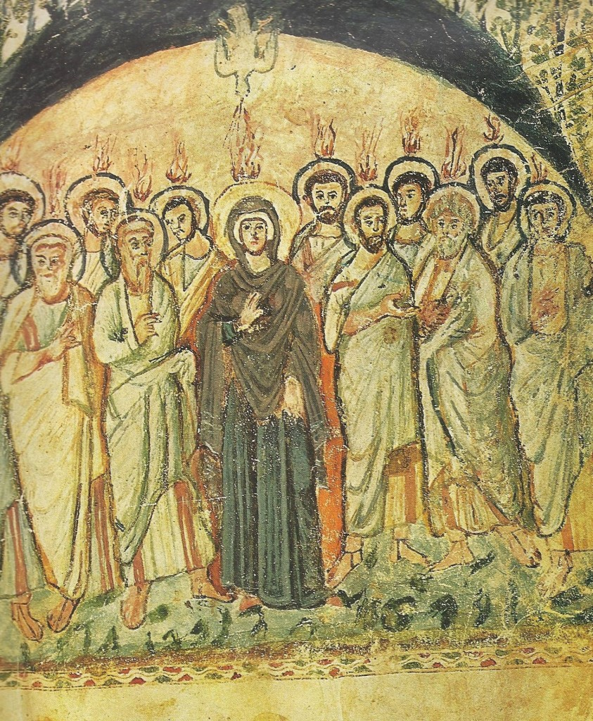 18.02.02.B. THE DAY OF PENTECOST AS DEPICTED IN THE RABULA CODEX OF 586 (3)