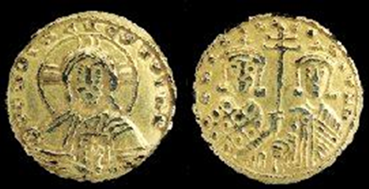 """18.03.00.B. COIN WITH THE IMAGE OF """"CHRISTOS."""" (2)"""