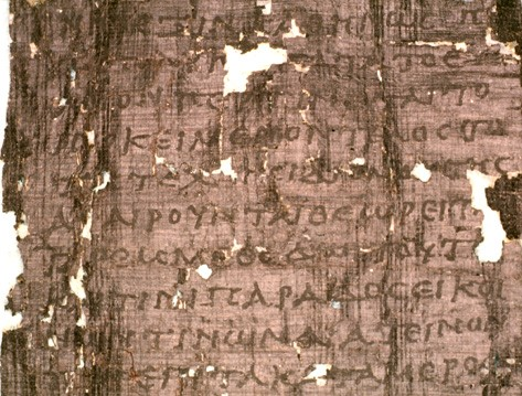 02.01.05.A. FRAGMENT OF PHILODEMUS' EPICUREAN WRITING