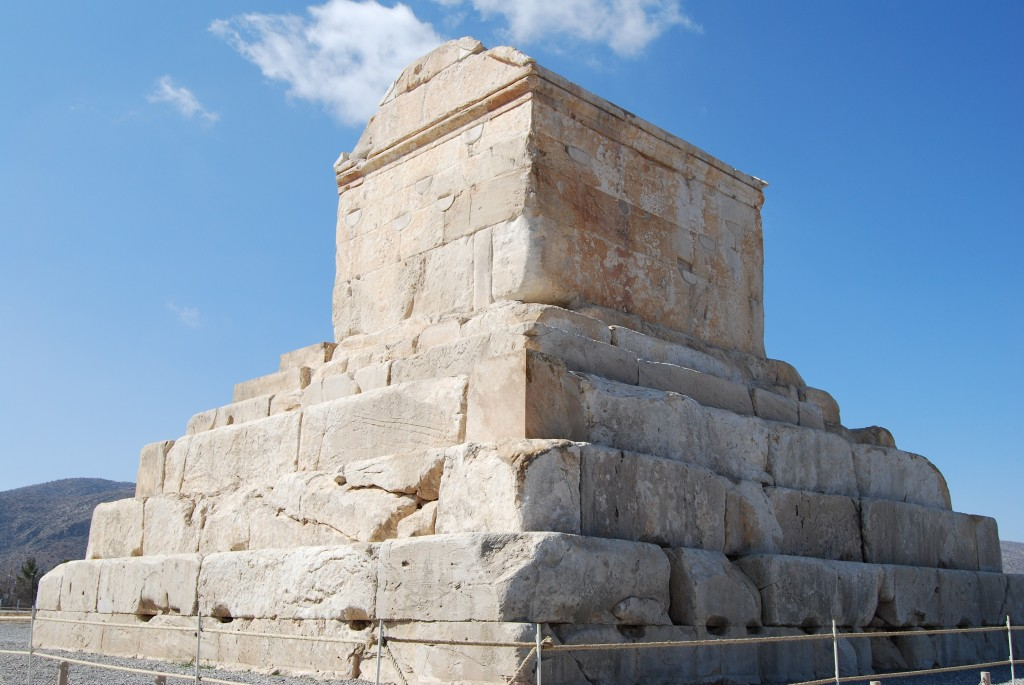 03.02.14.B. THE TOMB OF CYRUS THE GREAT
