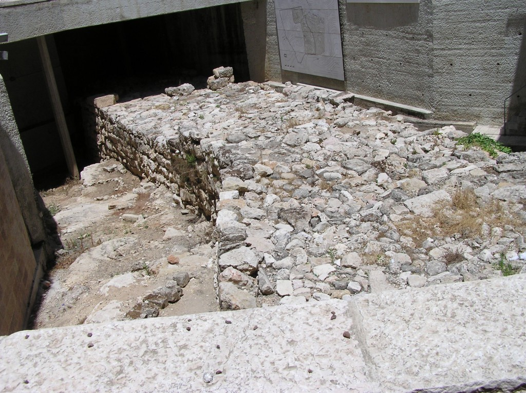 "03.03.03.A. AN EXCAVATED SECTION OF NEHEMIAH""S WALL"