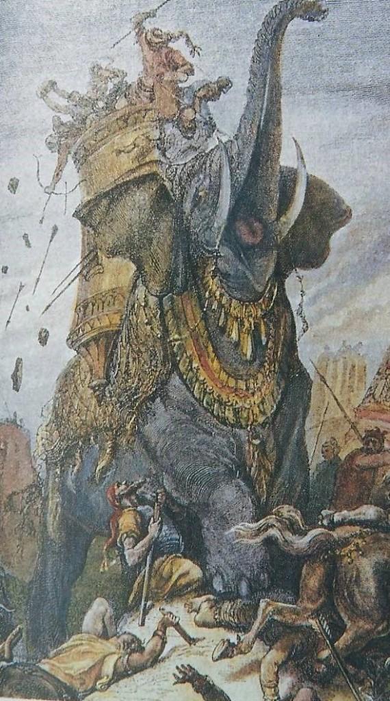 03.04.00.A. A GREEK-SELEUCID WAR ELEPHANT IN BATTLE (2)
