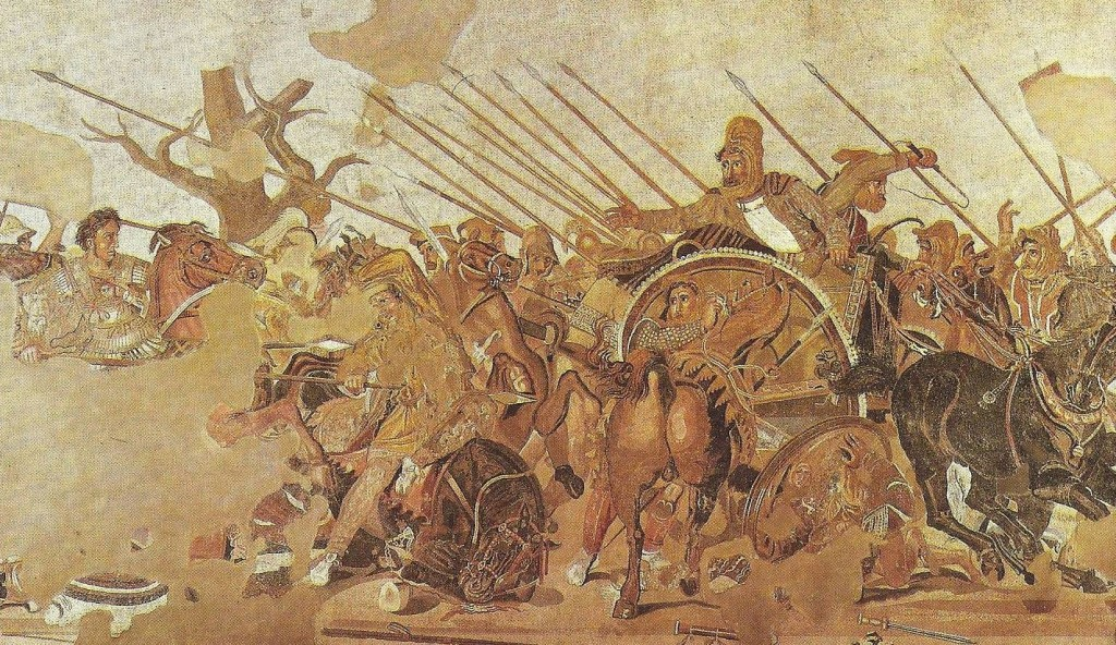 03.04.05.A. A MOSAIC OF ALEXANDER THE GREAT vs. THE INVINCIBLE KING DARIUS III. (2)