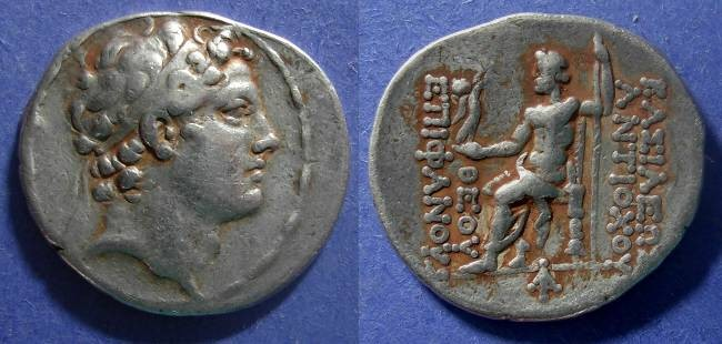 03.04.17.A. COIN OF ANTIOCHUS IV EPIPHANES