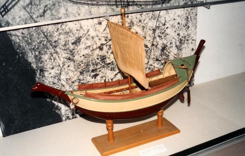 03.05.09.A. A MODEL OF A HASMONEAN MERCHANT SHIP