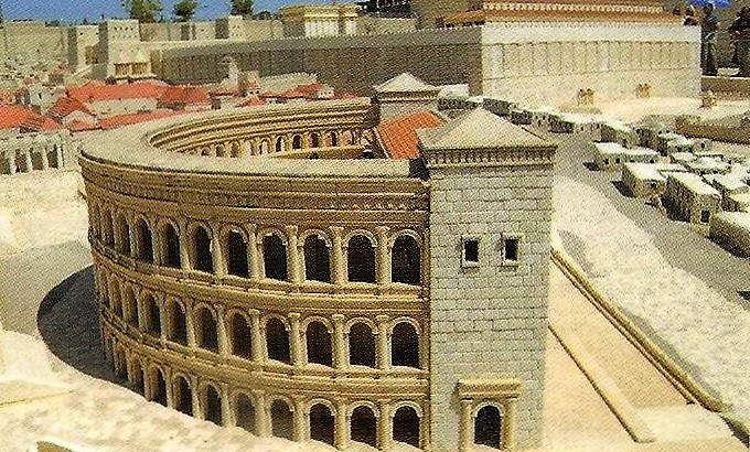 03.05.26.F. A MODEL OF HEROD'S THEATER (2)