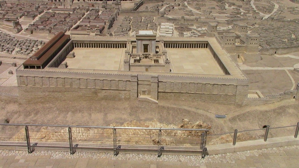 03.05.31.B. A MODEL OF HEROD'S TEMPLE