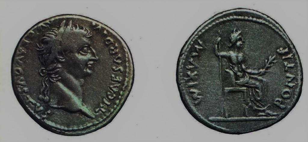 03.06.14.A. COIN OF TIBERIUS CAESAR (2)