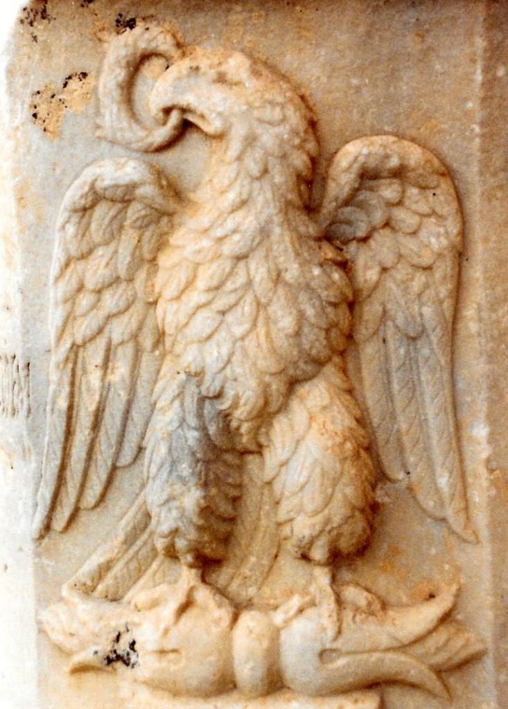 04.04.07.A. A RELIEF OF A ROMAN EAGLE