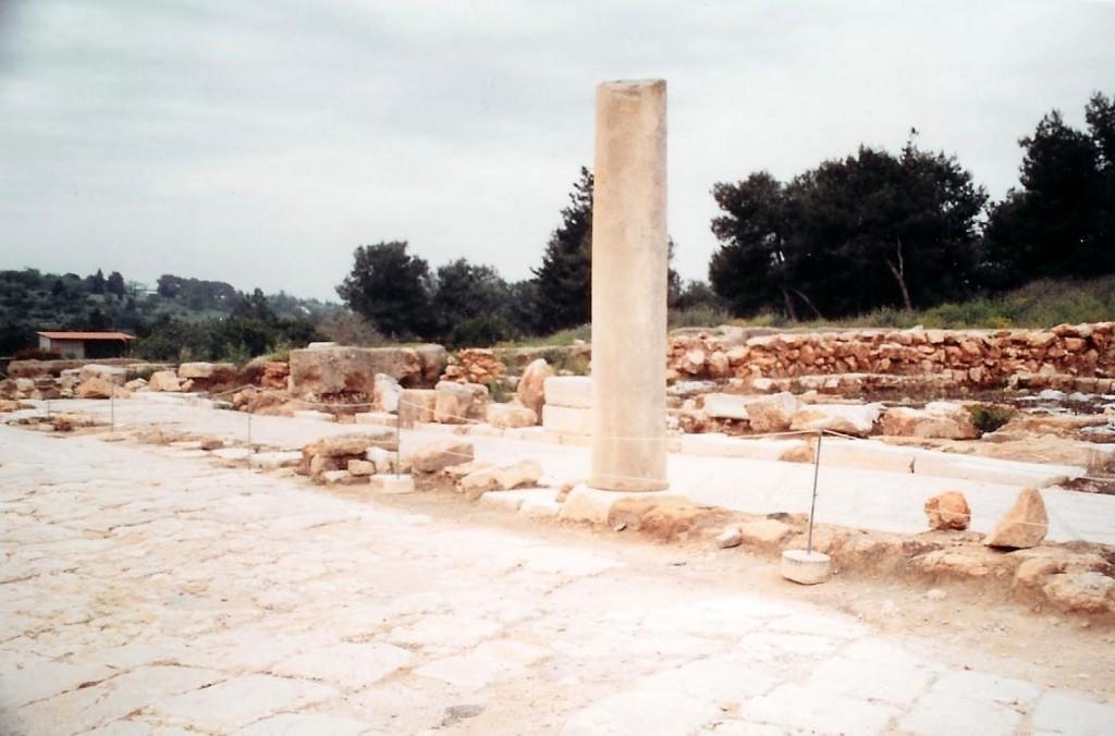 04.07.01.H. THE CARDO MAXIMUS IN SEPPHORIS