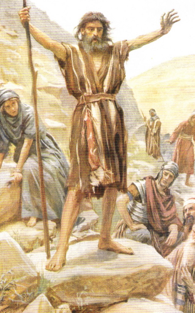 05.03.00.A. JOHN THE BAPTIST PREACHING IN THE WILDERNESS, Illustration by Godfrey Durand, 1896 (2)