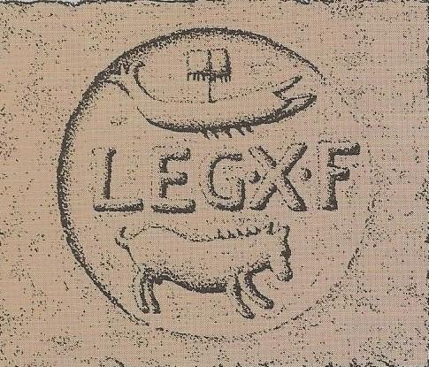 06.03.09.C. ROOF TILE WITH TENTH ROMAN LEGION INSCRIPTION (2)