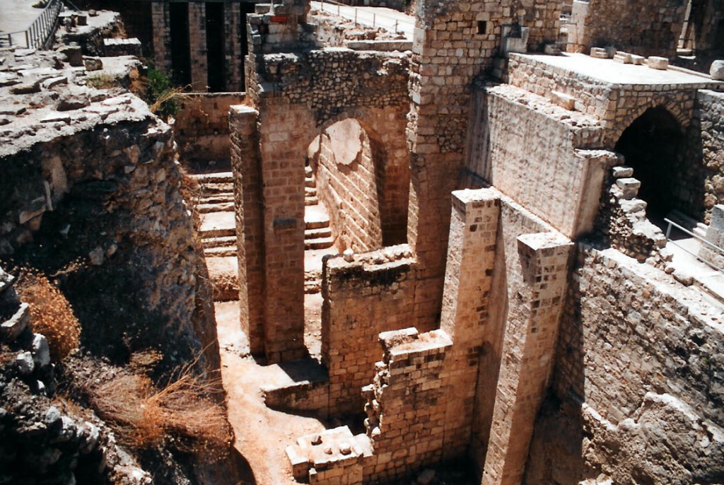 07.01.04.B. THE INTERIOR OF THE RUINS OF THE POOL OF BETHESDA