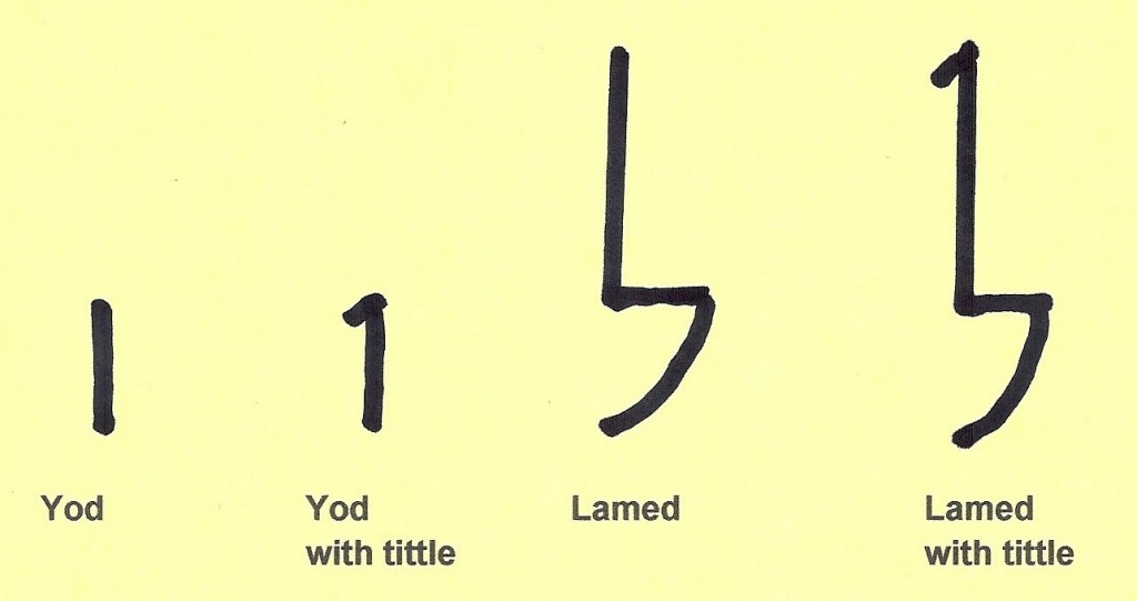 08.01.04.A. ILLUSTRATION OF TWO HEBREW LETTERS WITH SERIFS (3)