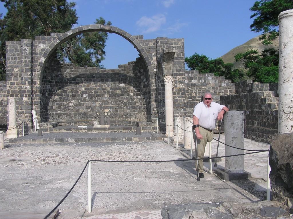 08.06.03.G. THE RUINS OF THE 6TH CENTURY BYZANTINE MONASTRY AT KURSI (ANCIENT GERGESA)