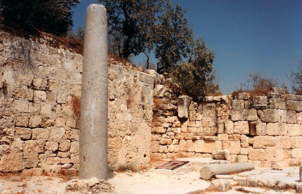 10.01.11.B. THE BURIAL SITE OF JOHN THE BAPTIST IN SAMARIA
