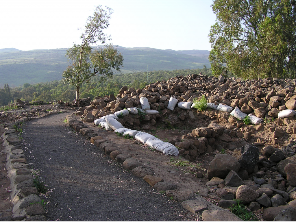 10.01.13.B. THE ARCHAEOLOGICAL SITE AT BETHSAIDA
