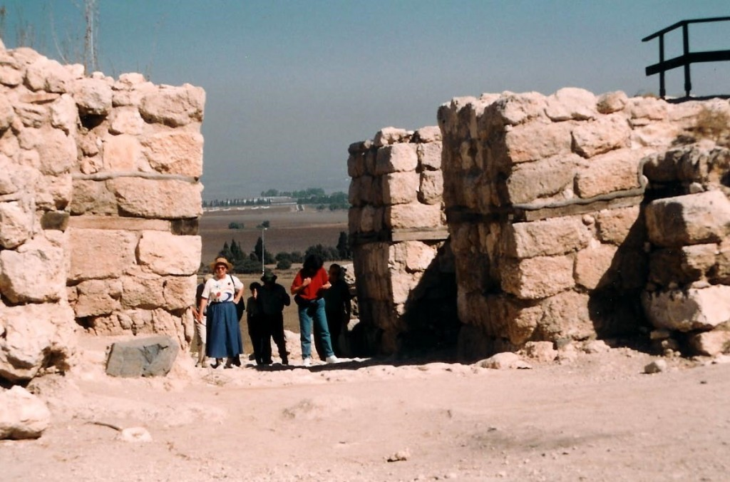 10.01.29.A. THE CITY GATES OF MEGIDDO