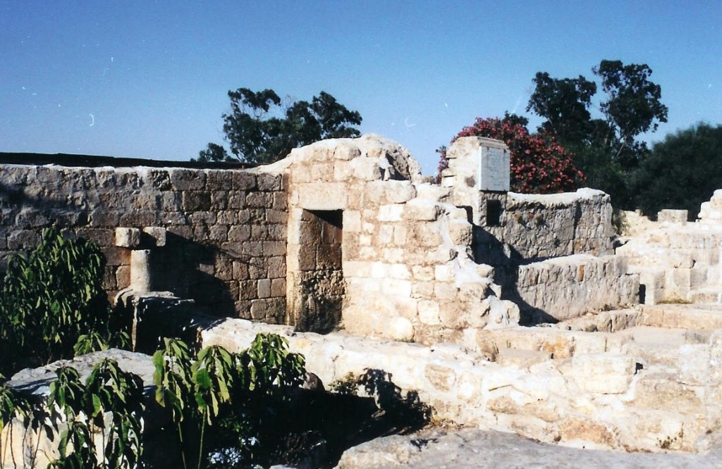 11.01.02.B. RUINS OF THE VILLAGE OF ATABYRION ON MOUNT TABOR