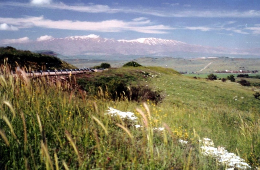 11.01.02.C. SNOW-CAPPED MOUNT HERMON IN LATE SPRING